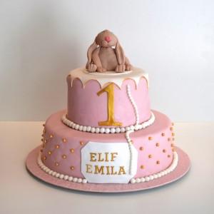 Designad tårta våningstårta