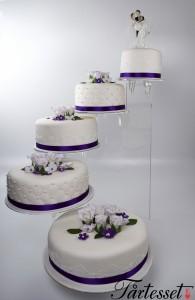 bröllopstårta stativ